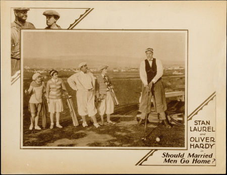 Lobby Card - Should Married Men Go Home